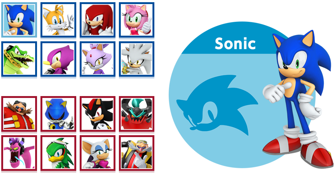 sonic olympic tokyo 2020 characters